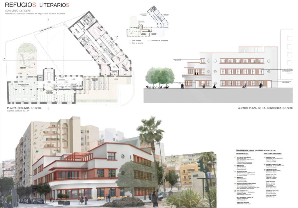 Concurso Biblioteca publica en Almeria2