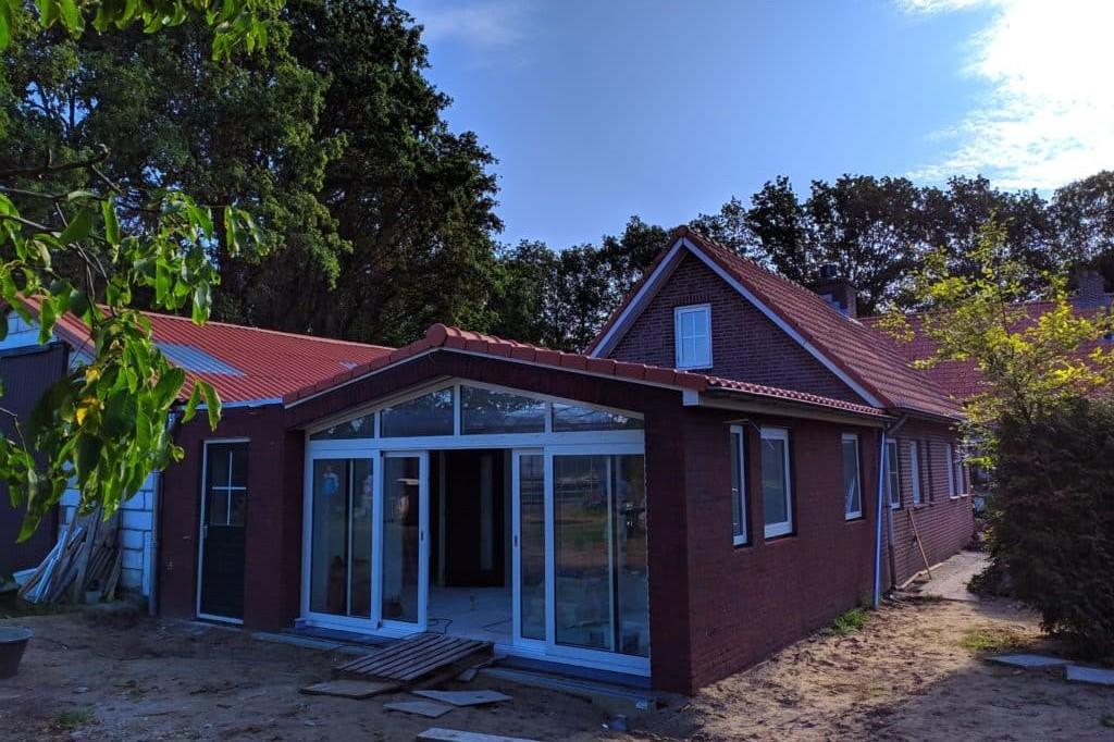 Foto exterior obra oficina en Holanda