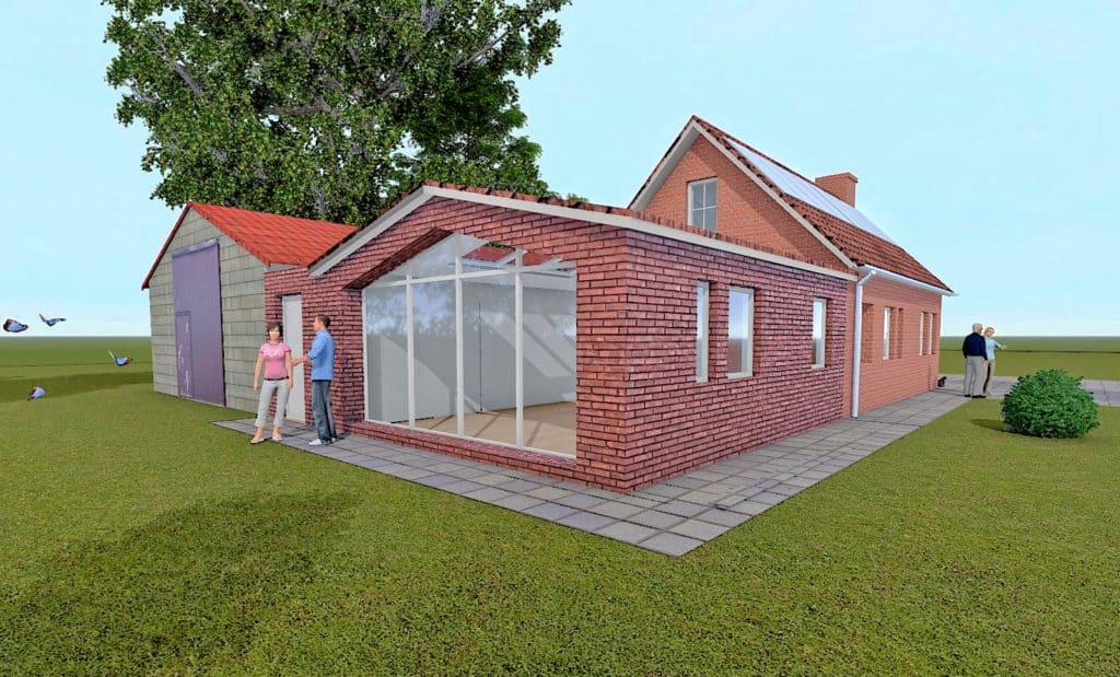 Imagen 3D Oficina en Asten, Holanda